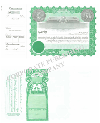 Goes® 156 Virginia  State Capital Stock Certificates