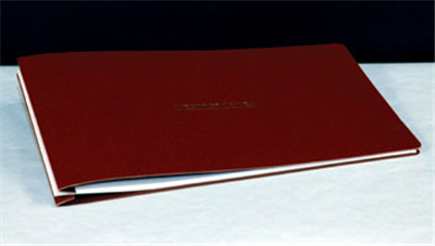 Type L  Soft Cover Binder