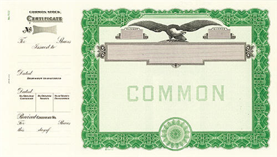 Goes® 512 Green Eagle No Text Common Notice