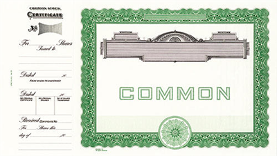 Goes® 727 Green Panel No Text Common Notice