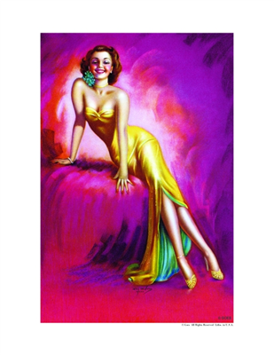 Pinup Poster - Alluring!