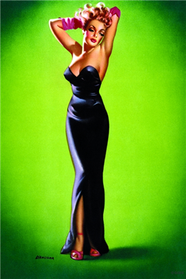 Pinup Poster - In the Spotlight