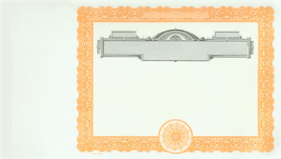 Goes® 733 Orange Panel No Text