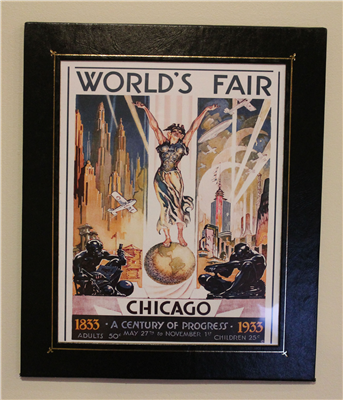 1933 Century of Progress Poster