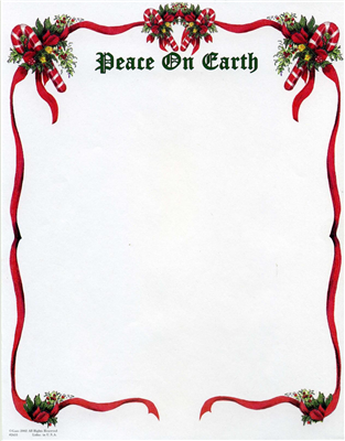 Peace On Earth Centered Top