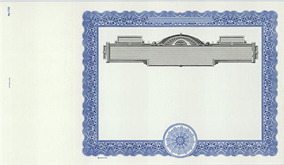 Goes® 730 Blue Panel No Text