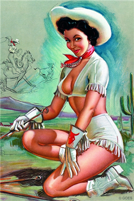 Pinup Poster - My Brand of Beauty