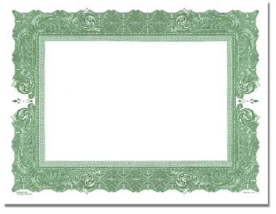 Goes® Green Antique Certificates