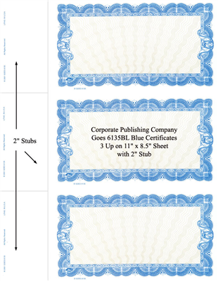 Goes® 6135BL Blue Seine Bond Stock