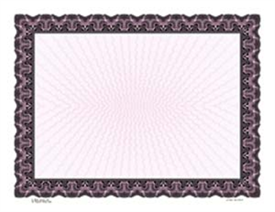 Goes® 441LV Lavender Monarch Certificates