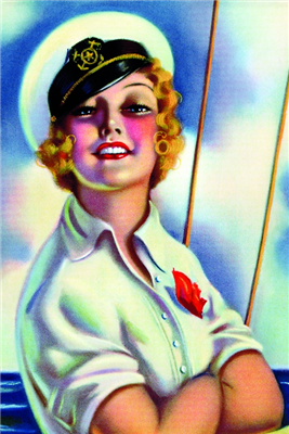 Pinup Poster - Sailor Girl