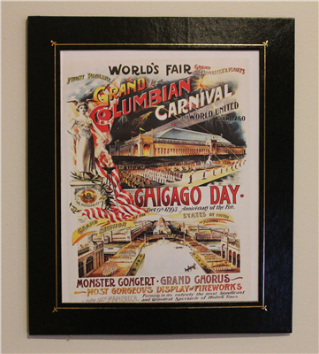 1896 Grand Colombian Carnival Poster