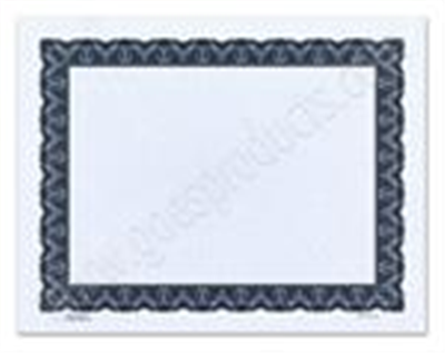 Goes® 441BL Blue-Black Monarch Certificates