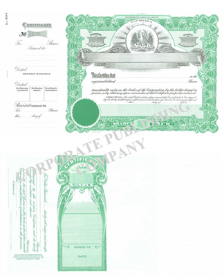 Goes® 193H State of Louisiana Stock Certificates